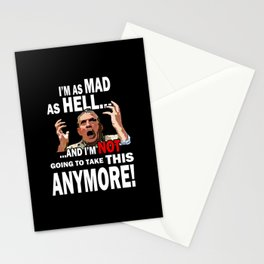 Mad As Hell Stationery Cards