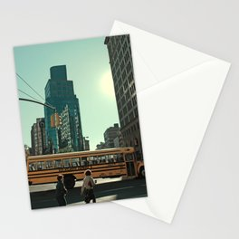 Bus Stationery Cards