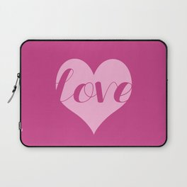 Love in a heart  Laptop Sleeve