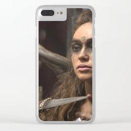 Lexa 01 Clear iPhone Case
