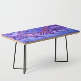 Flying above the sky. Coffee Table