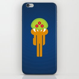 Metroid Loves Samus iPhone Skin
