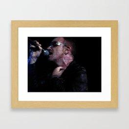 Bono 2 Framed Art Print