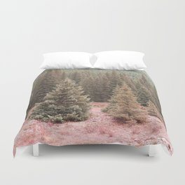 Look For Me In The Trees Duvet Cover
