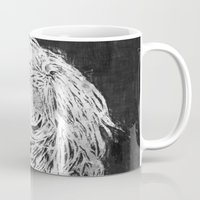 ellie goulding Mugs featuring Ellie by Misha Libertee
