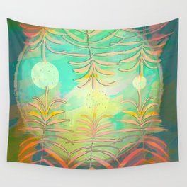 Floral Pollination Wall Tapestry