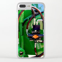 The Heart Of The Matter Clear iPhone Case