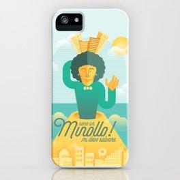 il minollo iPhone Case