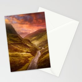 Honister Sundown Stationery Cards