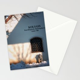 window on the wall Stationery Cards