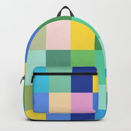 Shades of Spring Green Backpack