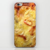 pizza iPhone & iPod Skins featuring Pizza by Fine2art
