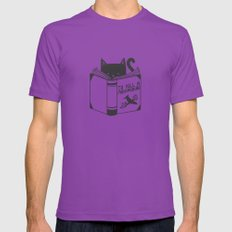 To Kill a Mockingbird Ultraviolet 2X-LARGE Mens Fitted Tee