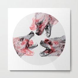 Pack Mentality Metal Print