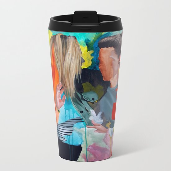 Sam and Mon Metal Travel Mug