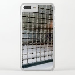 speeding through life Clear iPhone Case