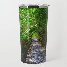 Path under the Tree Canopy Travel Mug