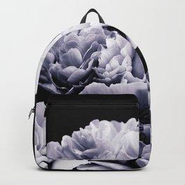 Peony Flower Bouquet Black and White #decor #society6 #buyart Backpack