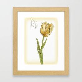 Tulip Framed Art Print