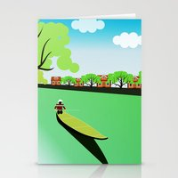 vietnam Stationery Cards featuring Vietnam views by Design4u Studio