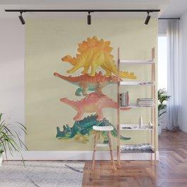 Dinosaur Antics Wall Mural
