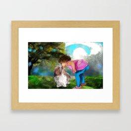 a blessing Framed Art Print