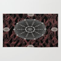celtic Area & Throw Rugs featuring Celtic Pattern by Pepita Selles