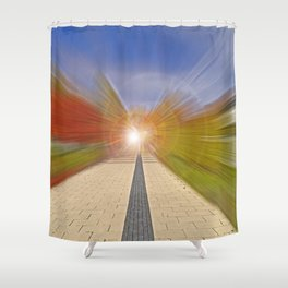 The Enlightenment Shower Curtain