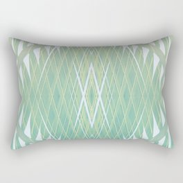 Leaf Gradient Rectangular Pillow