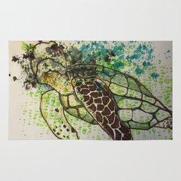 Hawksbill Sea Turtle Rug