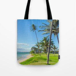 Waipuilani Beach Kihei Maui Hawaii Tote Bag