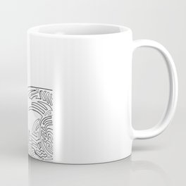 Squiggly Cloud and Squiggly Bird Coffee Mug