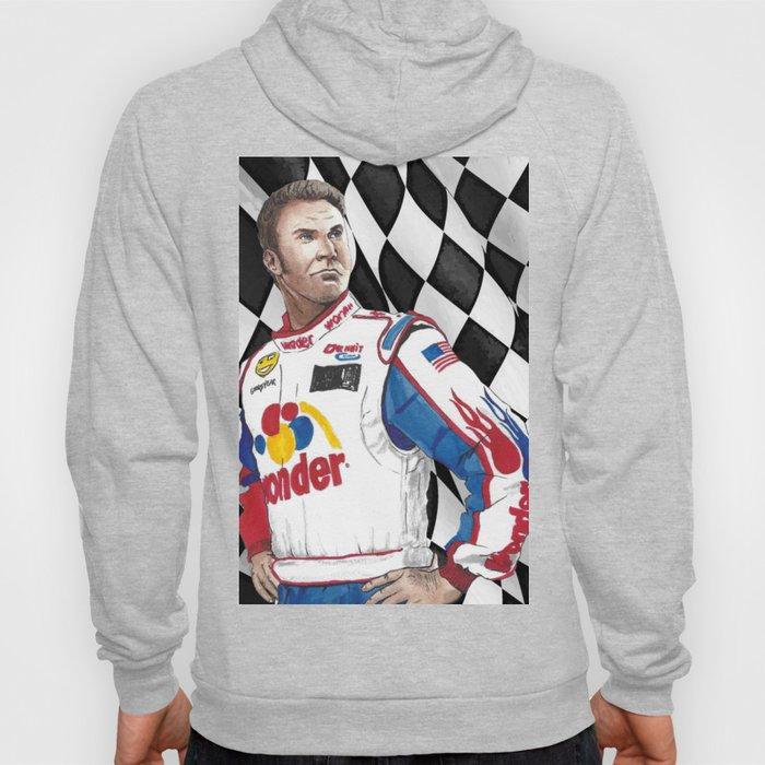Ricky Bobby Loves Racing Hoody