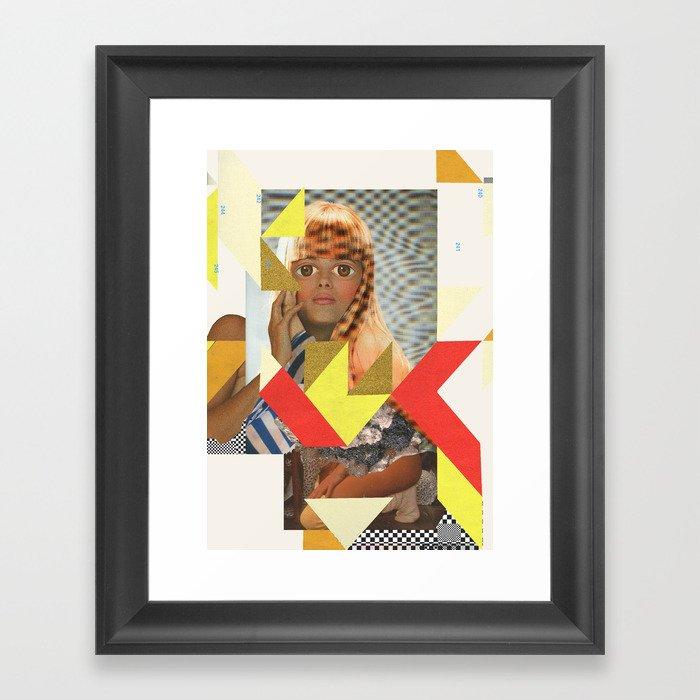 ODD 004 Framed Art Print