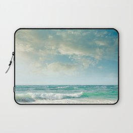 beach love tropical island paradise Laptop Sleeve