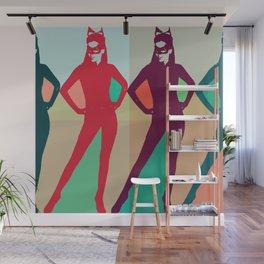 Color Cat Wall Mural