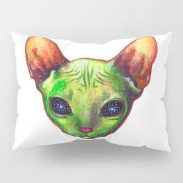 Alien sphynx cat Pillow Sham