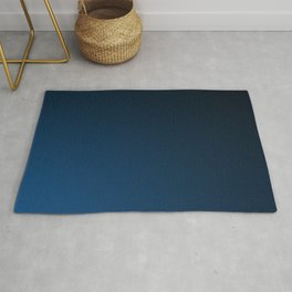Shades of PANTONE Classic Blue Color Of The Year 2020 Rug