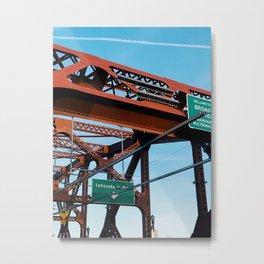 broadway Metal Print