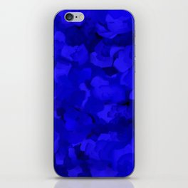 Rich Cobalt Blue Abstract iPhone Skin