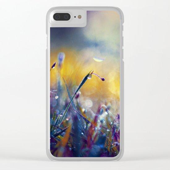 Moss Island Clear iPhone Case