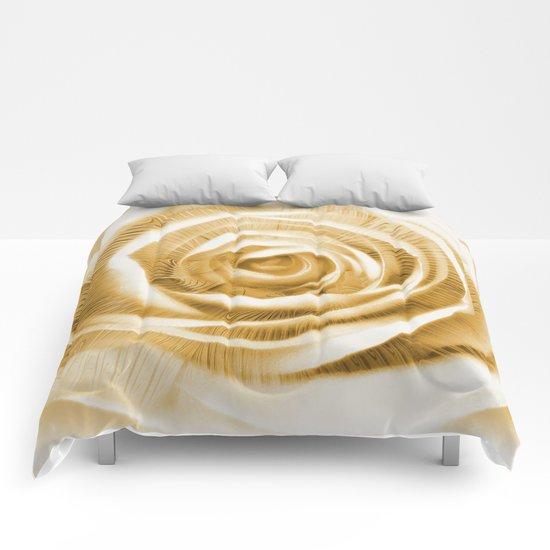 Rose & Fractal Comforters