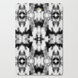 Tie Dye Blacks Cutting Board