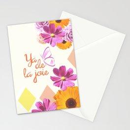 Ya de la joie Stationery Cards