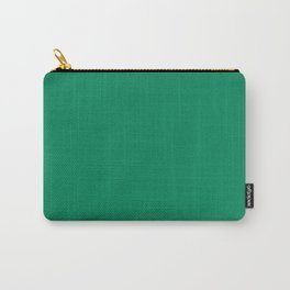 Jelly Bean Green Carry-All Pouch