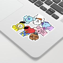 BT21 BTS Run Episode 33 Inspired Sticker