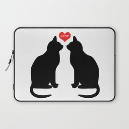 KPOP Cats Love Laptop Sleeve
