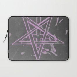 Unholy in Pink Sigil Laptop Sleeve