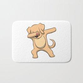 Dabbing Labrador T Shirt Men Women Retriever Lab Labs Dog Gift Bath Mat