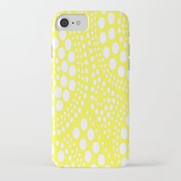 yellow pattern iPhone & iPod Cases featuring Pattern Yellow by Wildflowers and Grace